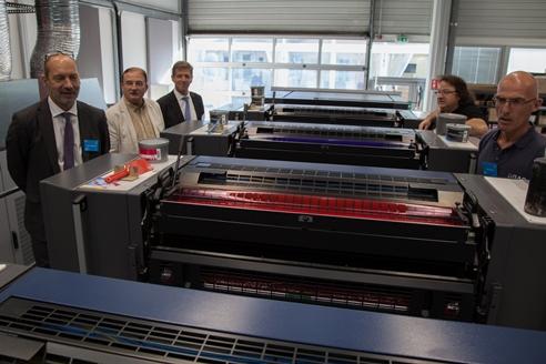 Publication - La nouvelle presse offset de l'imprimerie